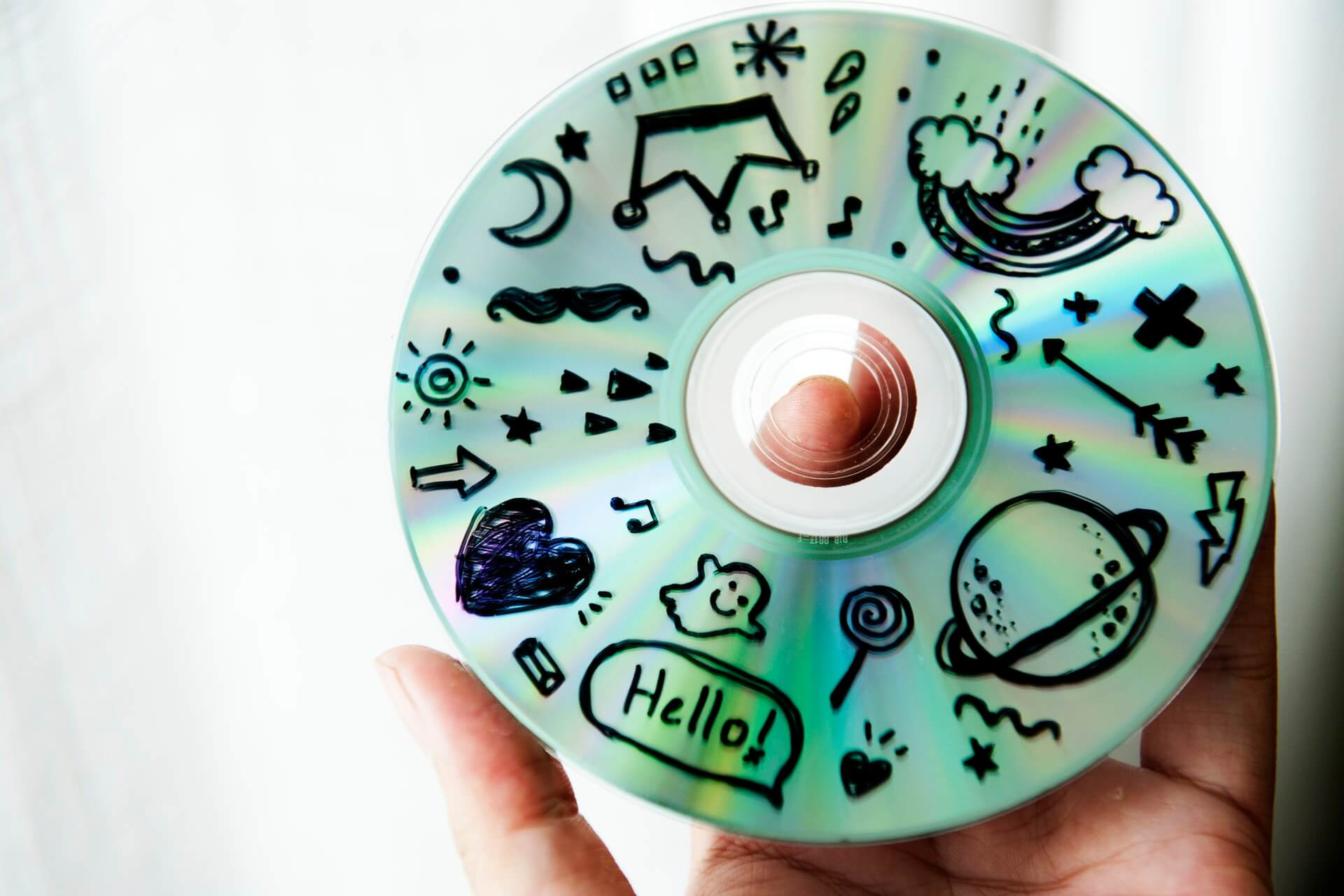 drawings on a cd