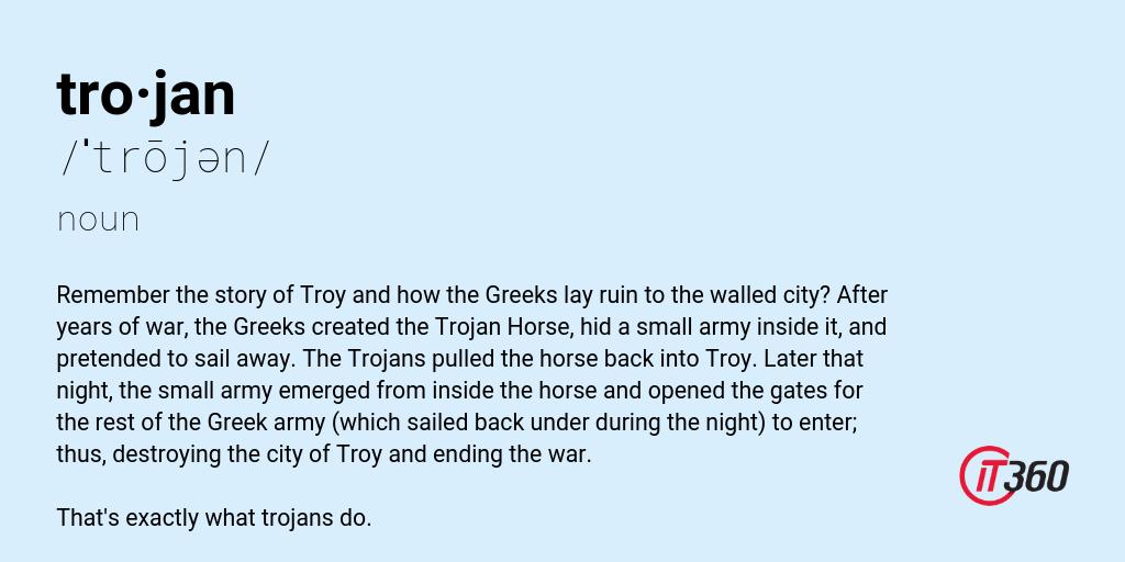 Trojan Definition