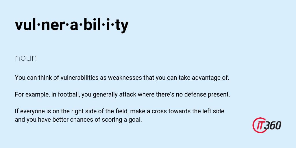 Vulnerability Definition